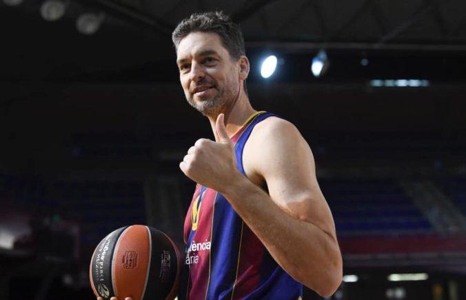 Štyridsiatnik Pau Gasol sa po dvoch rokoch vrátil na basketbalové palubovky