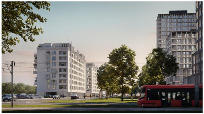 CRESCO REAL ESTATE spúšťa predaj ďalších 121 bytov v Slnečniciach v blízkosti plánovanej električky