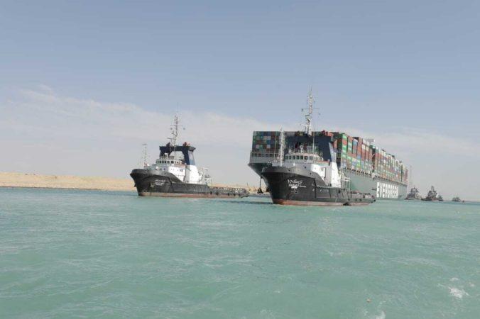 Obrovskú nákladnú loď Ever Given, ktorá zablokovala Suezský prieplav, egyptské úrady skonfiškovali