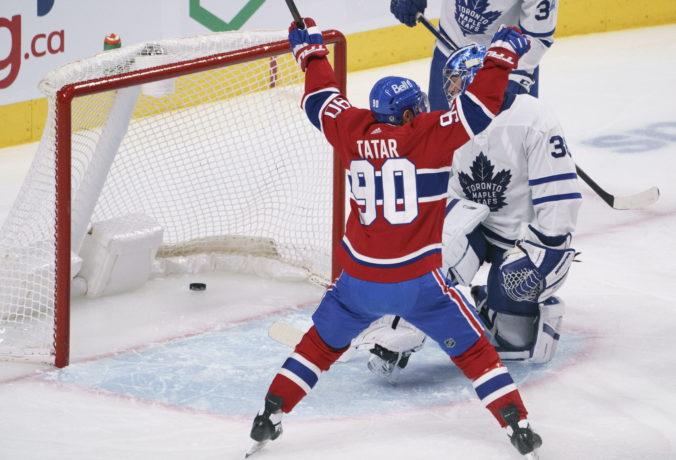 Tatar strelil dva góly a postaral sa o víťazstvo Montrealu, Torontu skončila víťazná séria (video)
