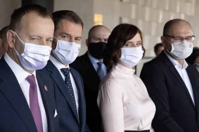Predstavitelia koaličných strán sa stretli na úrade vlády, rokovali o možnej zmene COVID automatu