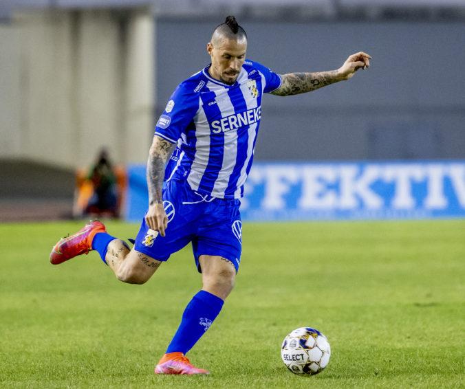 Hamšík po zranení debutoval v drese IFK Göteborg, vďačný bol aj za 20 minút na ihrisku