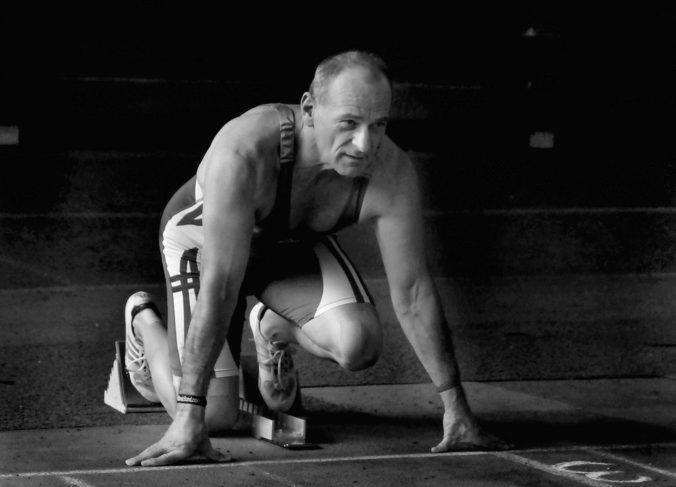 Zomrel elitný svetový šprintér medzi veteránmi Vladimír Výbošťok, získal desiatky medailí z majstrovstiev