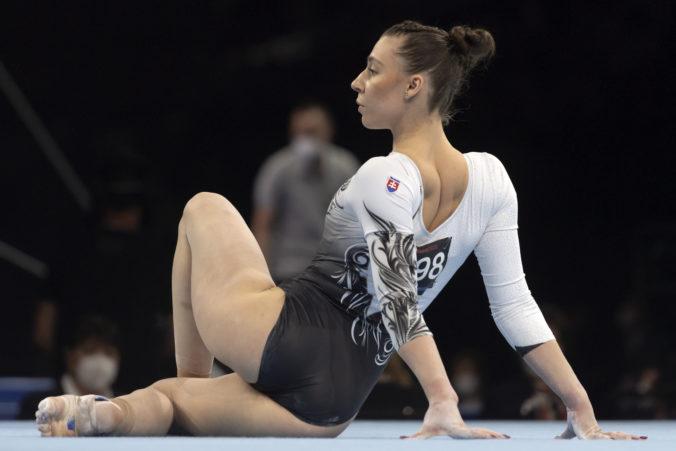 Gymnastka Mokošová obsadila na ME v Lausanne vo viacboji skvelé miesto, neobhájila však bronz na bradlách