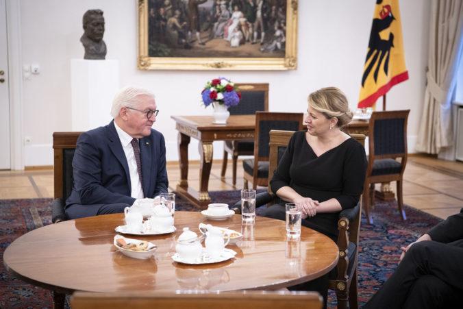 Čaputová telefonovala s nemeckým prezidentom, vyzdvihla podporu pri prerozdelení vakcín