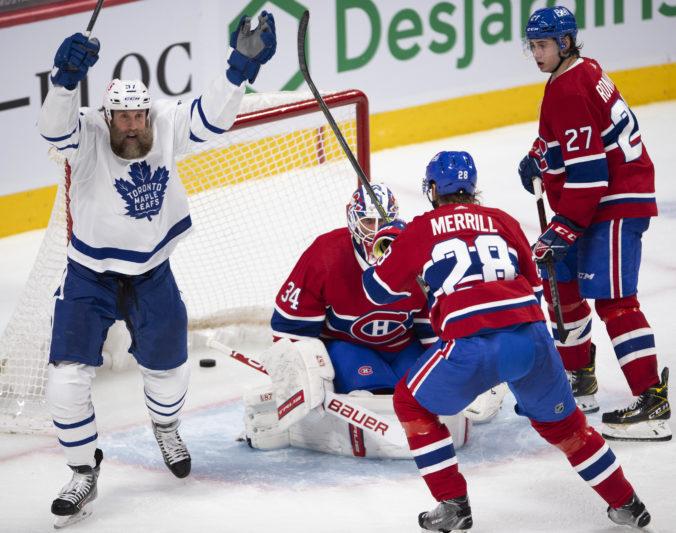 Montreal bez zraneného Tatara podľahol Torontu, Maple Leafs už majú istotu postupu do play-off (video)