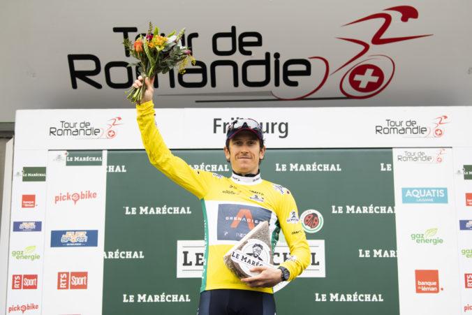 Geraint Thomas ovládol preteky Okolo Romandie, Peter Sagan obstál v príprave na Giro so cťou