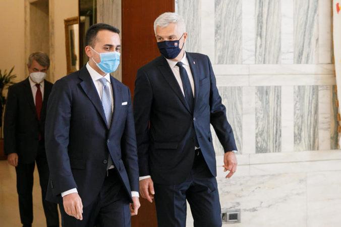 Korčok rokoval v Ríme s ministrom Di Maiom, vidí možnosti spolupráce vo viacerých oblastiach