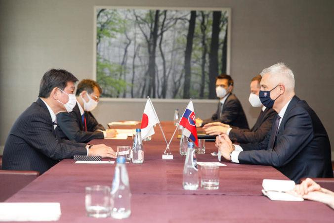 Korčok sa stretol s ministrami Vyšehradskej štvorky, vyzdvihol hospodársku spoluprácu s Japonskom