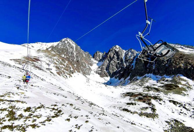 Na Slovensku sa lyžuje už len v Lomnickom sedle, zjazdovky však nebudú upravovať