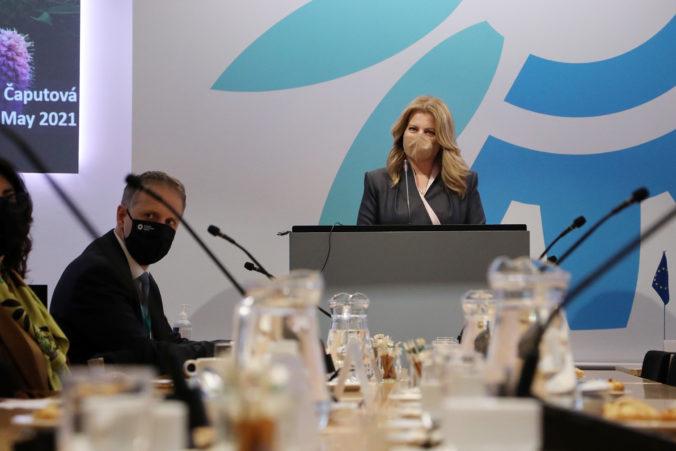Čaputová sa stretla s dánskou premiérkou, Slovensko chce prehlbovať partnerstvo aj v oblasti životného prostredia