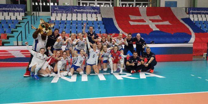 Slovenské volejbalistky senzačne postúpili na majstrovstvá Európy, rozhodla výhra nad Čiernou Horou (video)