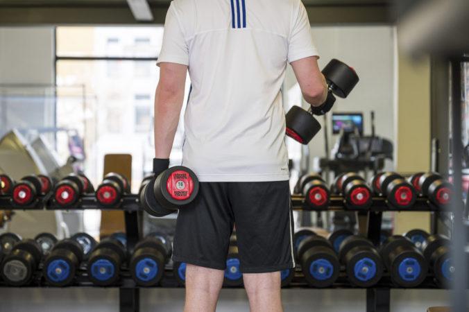 Do fitness centra už nepotrebujete negatívny test na COVID-19, platí však obmedzenie v kapacite