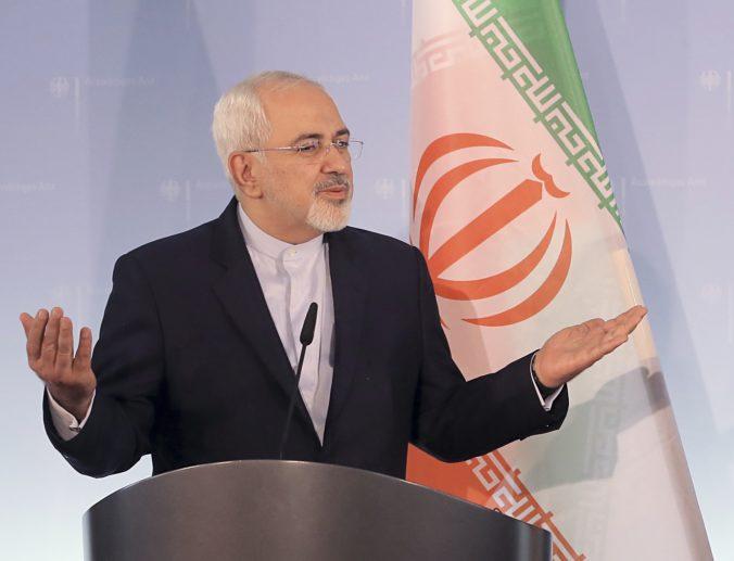 Iránsky minister zahraničných vecí zrušil návštevu Viedne, dôvodom je izraelská zástava