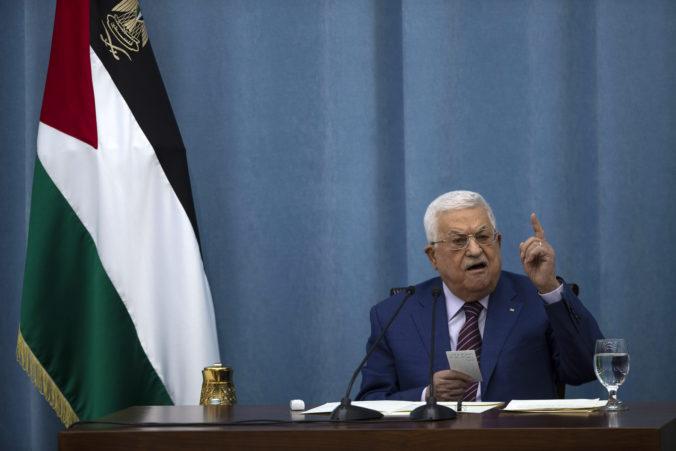 Palestínsky prezident Mahmúd Abbás obvinil Izrael zo štátneho terorizmu a vojnových zločinov