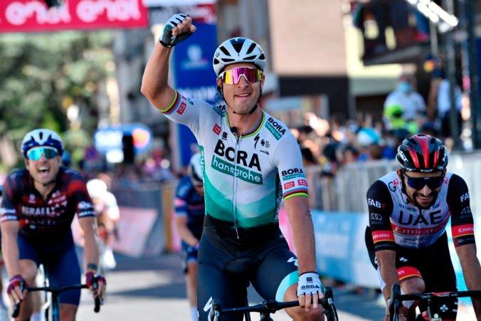 Sagan a celý tím dostali pochvalu od manažéra Bora-Hansgrohe, víťazstvom v etape sa zbavili stresu