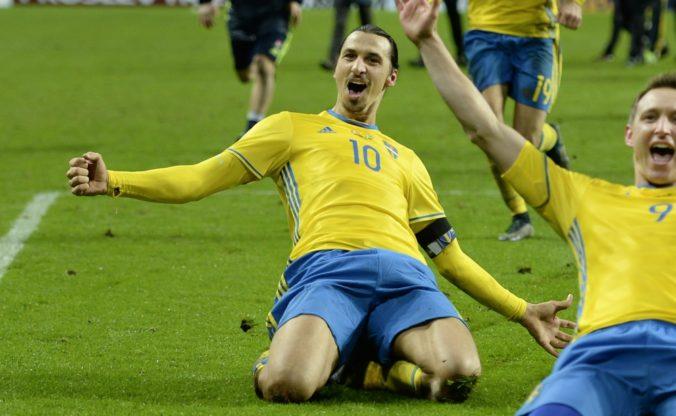 """Zlatana Ibrahimoviča nahradil v tíme """"Blaagult"""" na ME vo futbale syn inej švédskej legendy"""