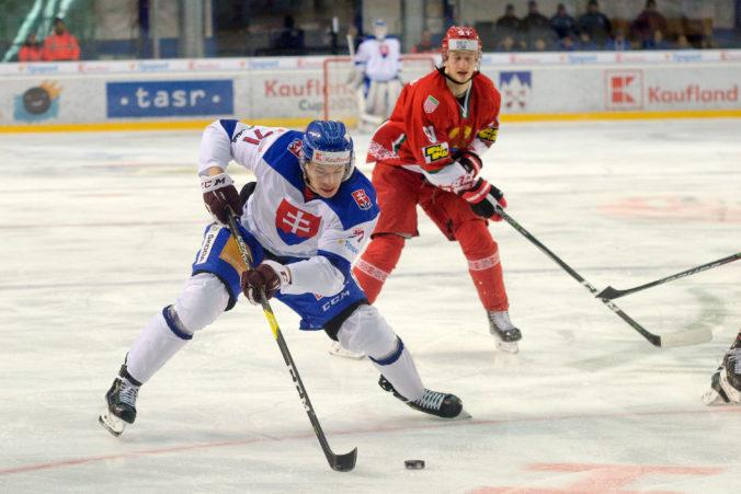 Kapitánom Slovákov na MS v hokeji 2021 bude Marek Ďaloga, Bielorusom nepomôže Andrej Kosticyn