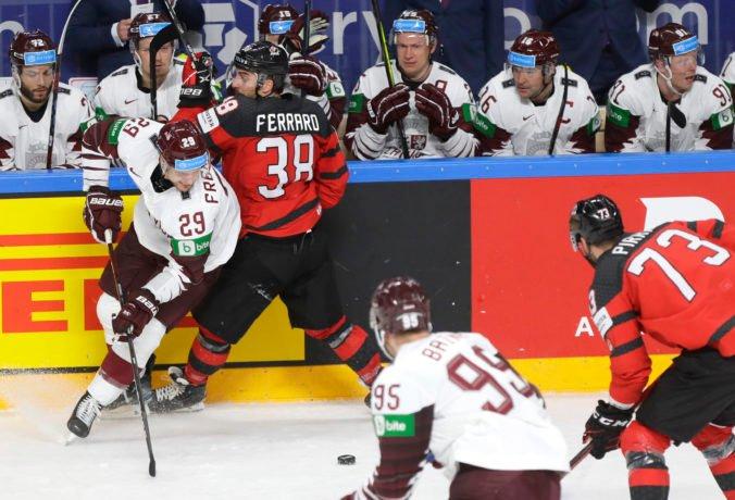 MS v hokeji 2021: Kanaďanov prekvapivo porazili Lotyši, Rusi rozhodli duel proti Čechom v závere (foto)