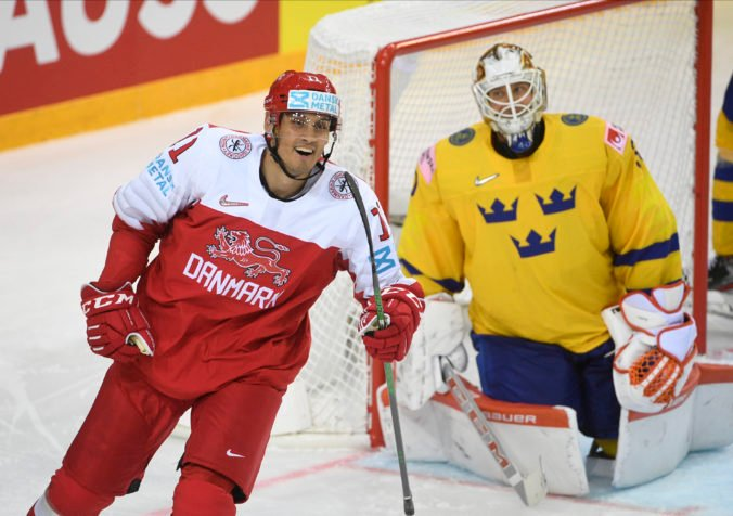 MS v hokeji 2021: Dáni senzačne zdolali Švédov, Nemci jasne vyhrali aj nad Nórmi (foto)