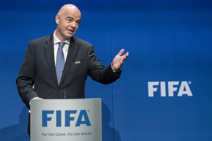 Šéf FIFA Gianni Infantino by chcel, aby sa majstrovstvá sveta vo futbale konali každé dva roky