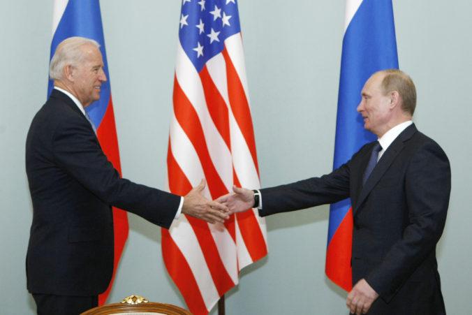 USA a Rusko chystajú stretnutie prezidentov, Putin a Biden by sa mali stretnúť v Ženeve