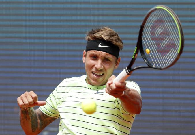 Srbské finále na turnaji ATP patrilo Djokovičovi, ale Molčan sa do poslednej chvíle nevzdával