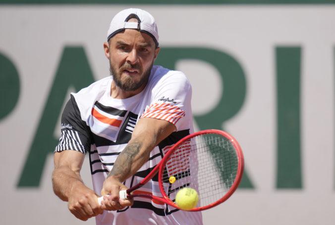 Martin sa rozlúčil v prvom kole s Roland Garros, Opelkovi nevzdoroval ani dve hodiny