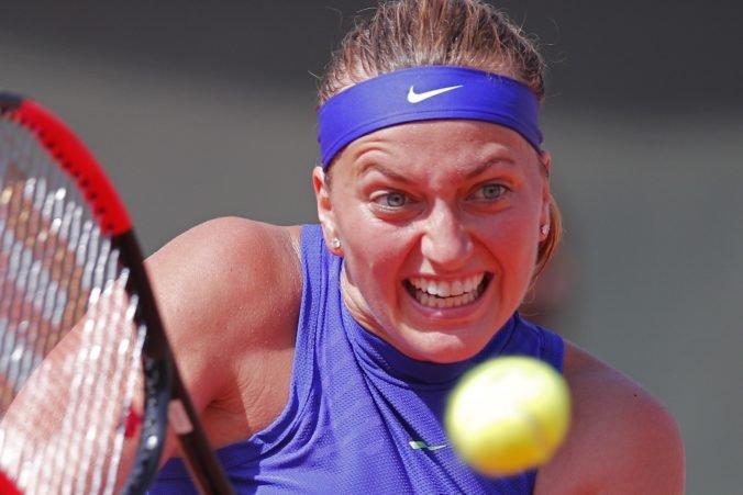 Kvitová si napriek víťazstvu druhé kolo na Roland Garros nezahrá, vyradil ju pád mimo kurtu