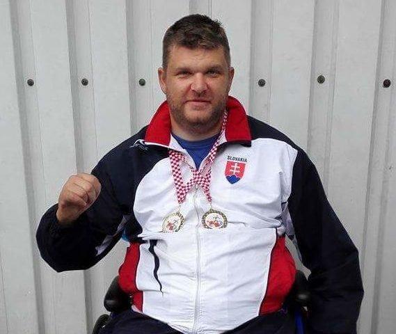 Kuřeja vybojoval na ME v paraatletike striebro, v Tokiu chce zabojovať o medailu