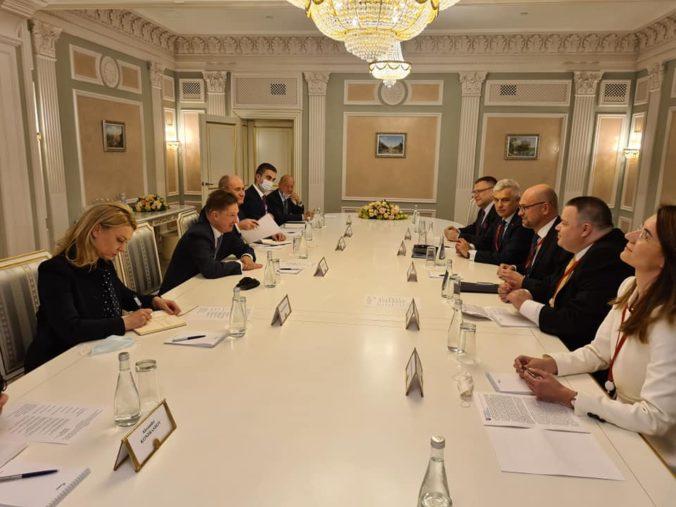Korčok so Sulíkom rokovali v Rusku, Slovensko má záujem o prehlbovanie obchodno-ekonomickej spolupráce