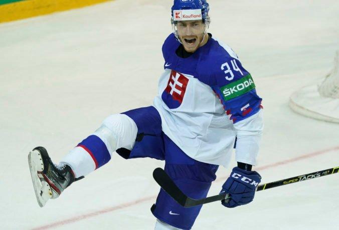 Peter Cehlárik sa stal najlepším útočníkom na MS v hokeji 2021
