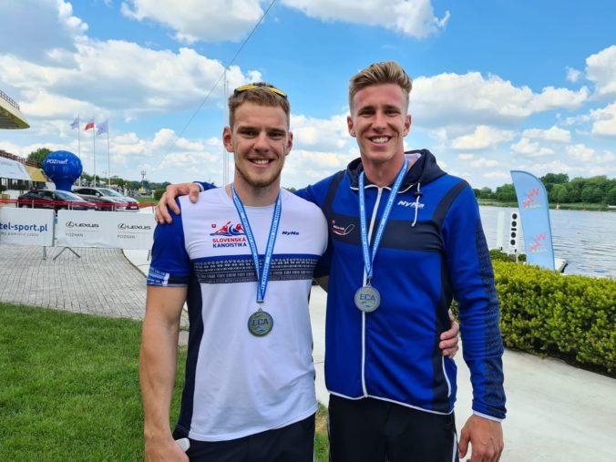 Slovensko má ďalšiu medailu z ME v Poznani, kajakári Baláž s Botekom získali striebro v K2