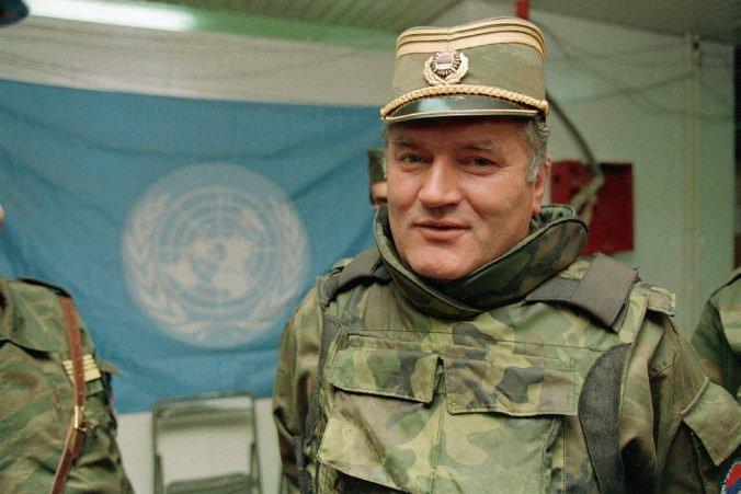Vojnový zločinec Mladič si v Haagu vypočuje definitívny verdikt