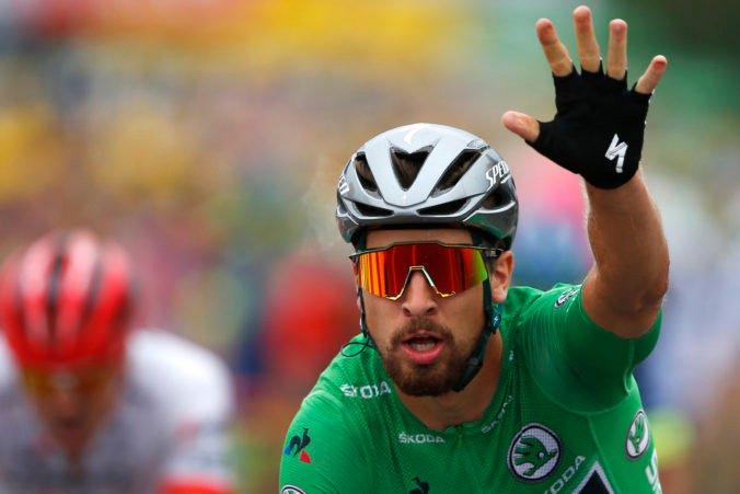 Sagan sa na Tour de France pokúsi o rekordný zelený dres, ale v nominácii Bora-Hansgrohe je aj ďalší šprintér