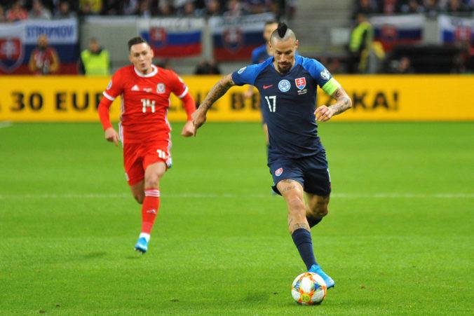 Hamšík trénuje na 80 percent a sústredí sa na duel proti Poľsku, Hubočan je nadšený z návratu do Petrohradu