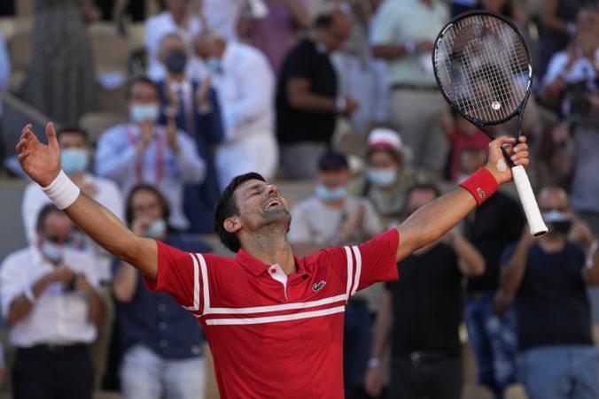 Djokovič si vybojoval svoj druhý titul na Roland Garros, proti Tsitsipasovi predviedol skvelý obrat