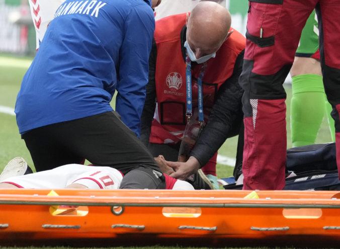 Futbal išiel bokom, kolaps a oživovanie Christiana Eriksena silno zasiahli hráčov aj fanúšikov