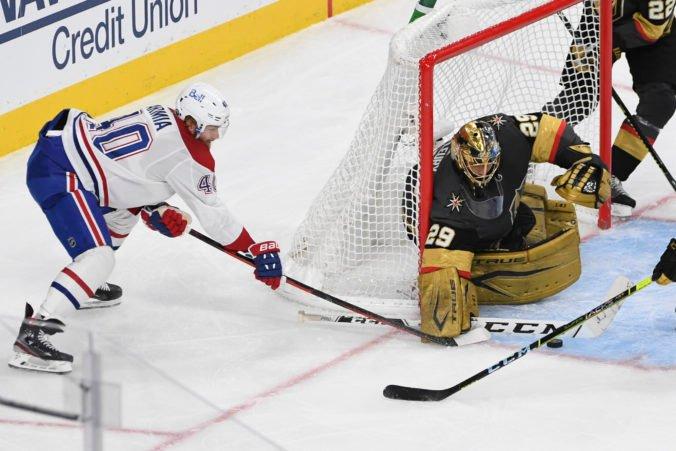 """Montreal bez Tatara v zostave vyhral na ľade """"zlatých rytierov"""" a vyrovnal sériu na 1:1 (video)"""