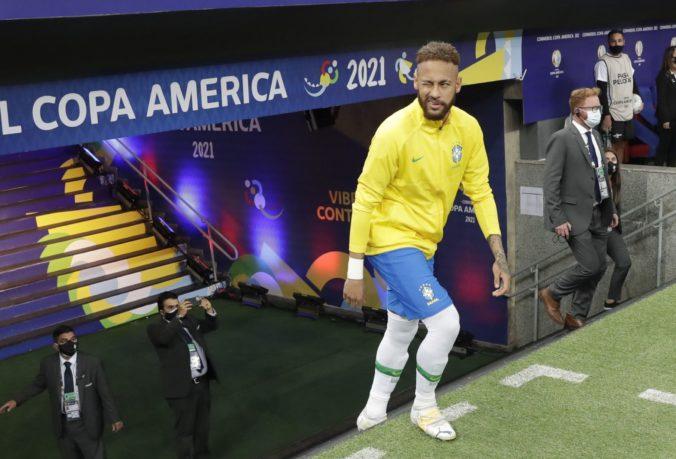 Neymar žiari v brazílskom drese na Copa América, na olympiádu do Tokia však nepôjde