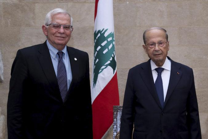 Libanon nutne potrebuje reformy a ukončenie krízy, Borrell vyzýva na urýchlené zostavenie novej vlády