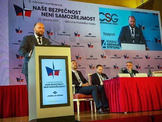 Česko je najbližším partnerom Slovenska aj v oblasti obrany a bezpečnosti, myslí si Naď