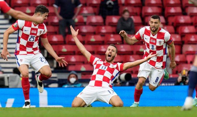 ME vo futbale 2020 (D-skupina): Chorváti odvrátili hrozbu vypadnutia, Škóti sa s Eurom lúčia (foto)