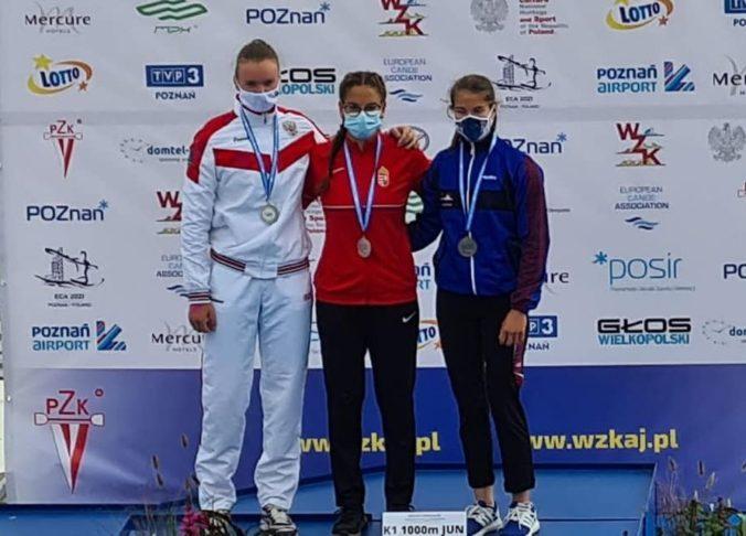 Kajakárka Sidová si vybojovala bronz na ME juniorov, ostatní Slováci zostali bez cenného kovu