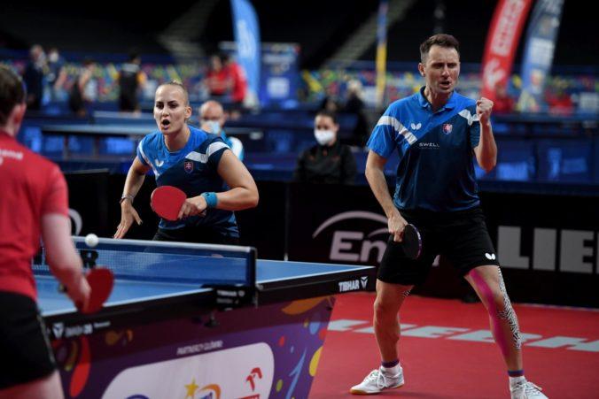 Pištej a Balážová získali na ME vo Varšave striebro, vo finále mixu podľahli nemeckej dvojici