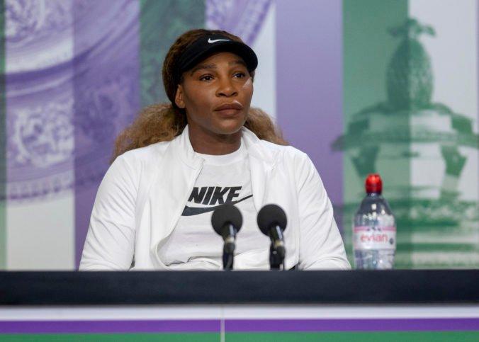 Serena Williamsová informovala o svojej neúčasti na OH v Tokiu, dôvod neprezradila