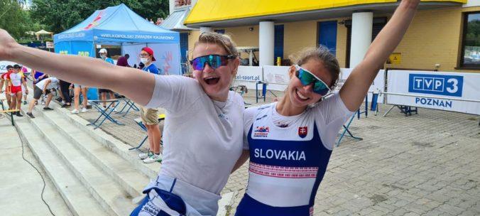 Slovenská reprezentácia v rýchlostnej kanoistike zahviezdila, získala štyri medaily