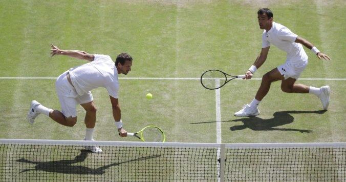 Polášek s Dodigom postúpili na Wimbledone do druhého kola, ďalej ide aj Kužmová