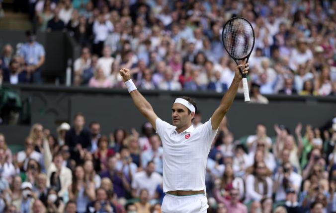Roger Federer onedlho oslávi štyridsiatku a stále sníva o rekordnom titule na Wimbledone