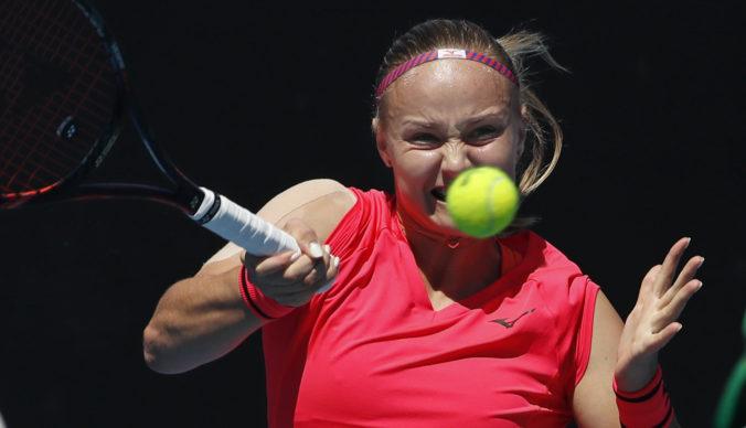 Rebecca Šramková na turnaji WTA v Prahe z pozície kvalifikantky senzačne zdolala Petru Kvitovú